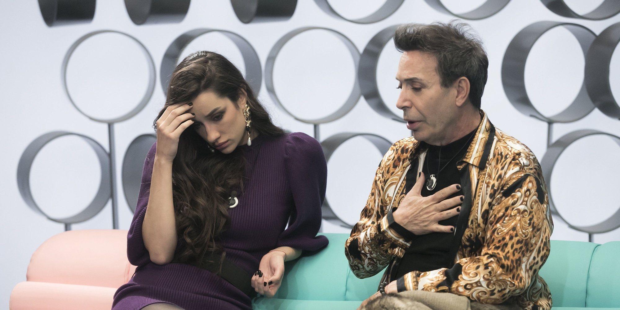 """Adara a Carlota Corredera antes de la expulsión en 'GH VIP 7': """"Seguro que hay cosas en las que me equivoqué"""""""