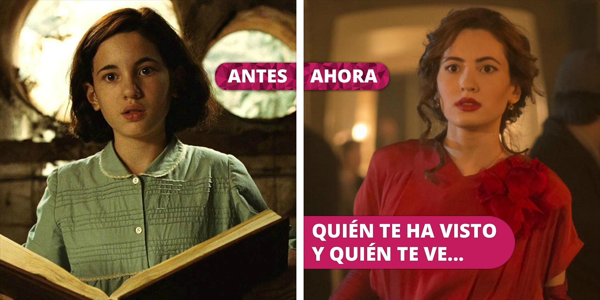 Así ha cambiado Ivana Baquero: De Ofelia en 'El laberinto del fauno' a Eva Villanueva en 'Alta mar'