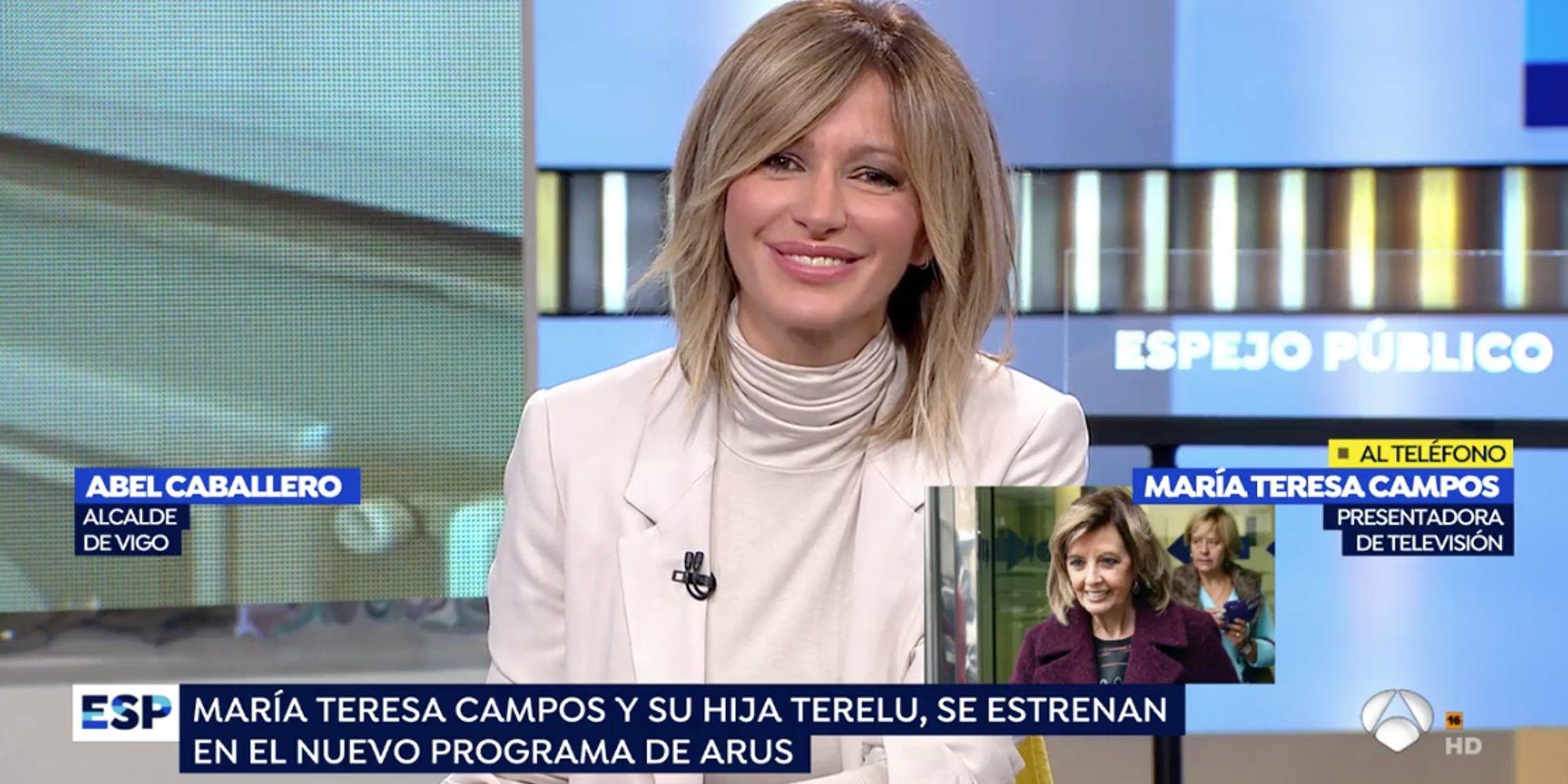 La atrayente propuesta de Susanna Griso a María Teresa Campos para que vuelva a la televisión