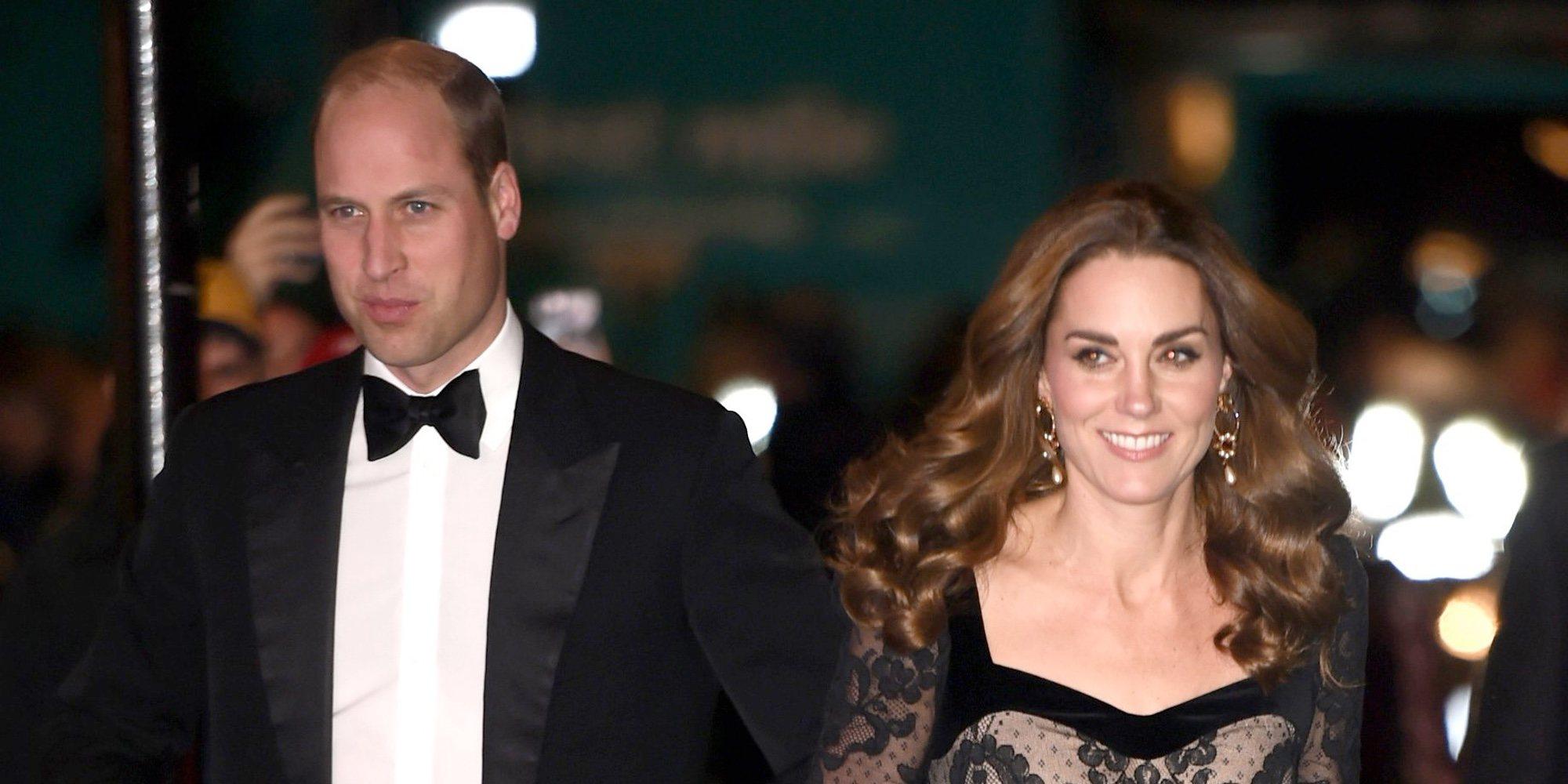 El Príncipe Guillermo y Kate Middleton, todo simpatía en mitad de la crisis de imagen de la Familia Real Británica