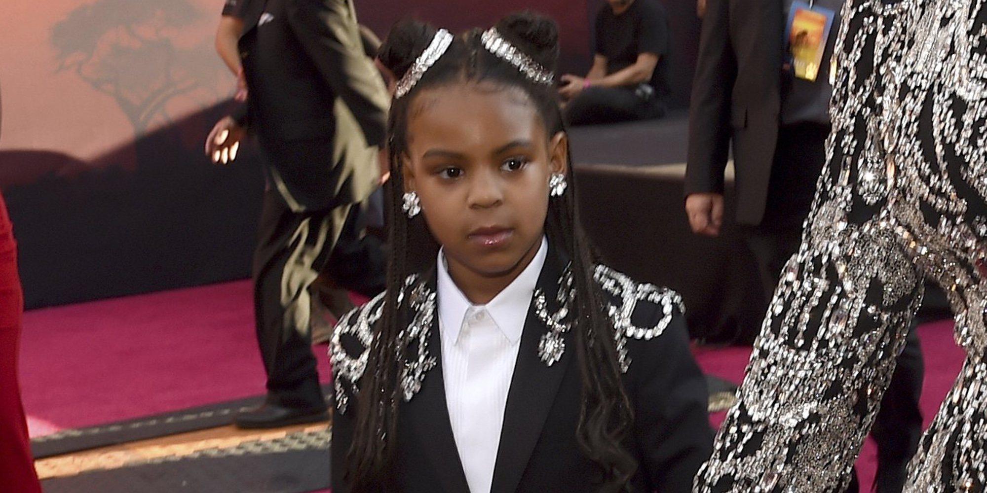 Blue Ivy Carter, la hija mayor de Beyoncé, gana su primer premio de composición con tan solo 7 años
