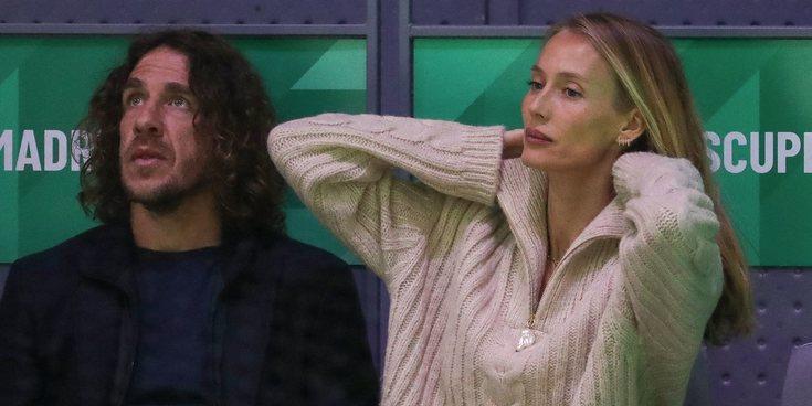 Vanesa Lorenzo, Carles Puyol y otras parejas que no han querido perderse la Copa Davis 2019 en Madrid