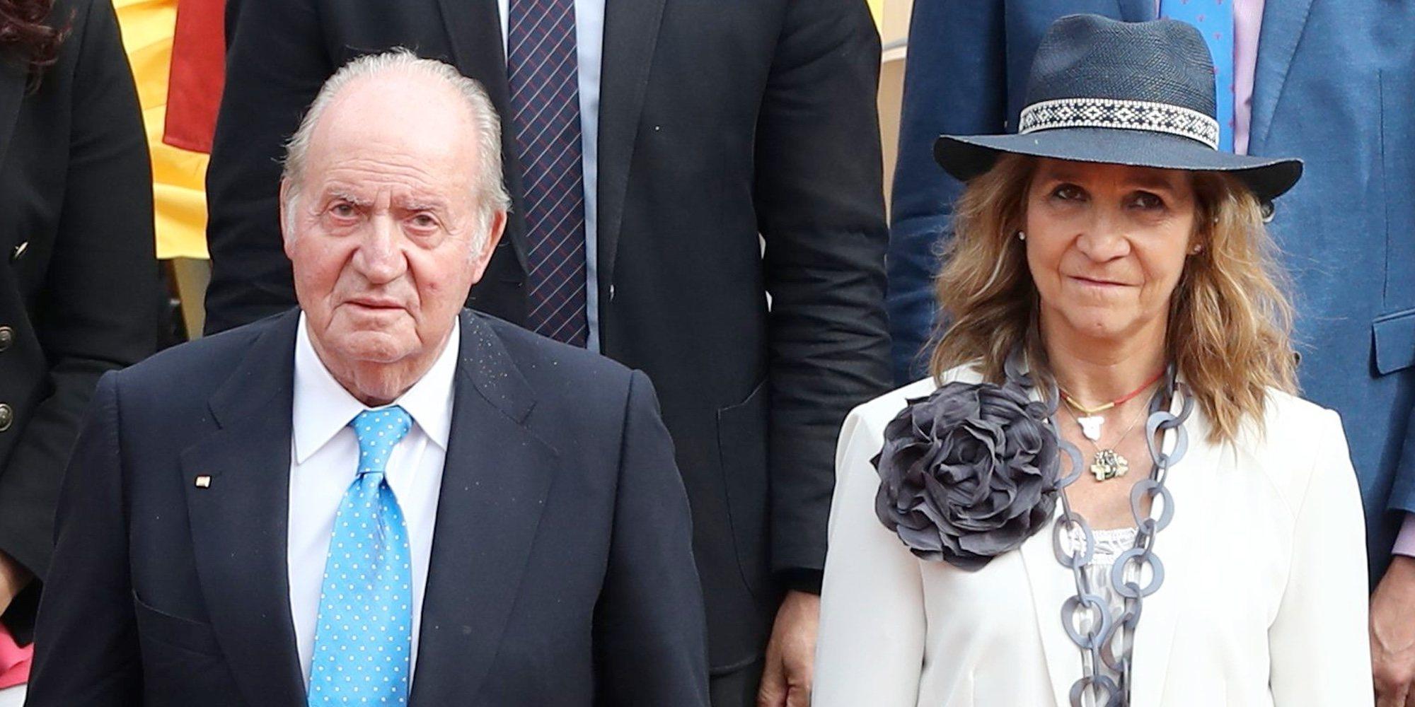El miedo que persigue al Rey Juan Carlos con la Infanta Elena