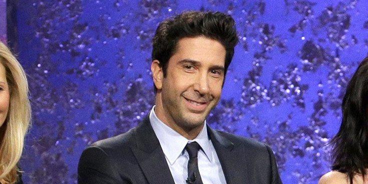 David Schwimmer, Ross de 'Friends', encuentra el amor en una mujer 29 años más joven que él