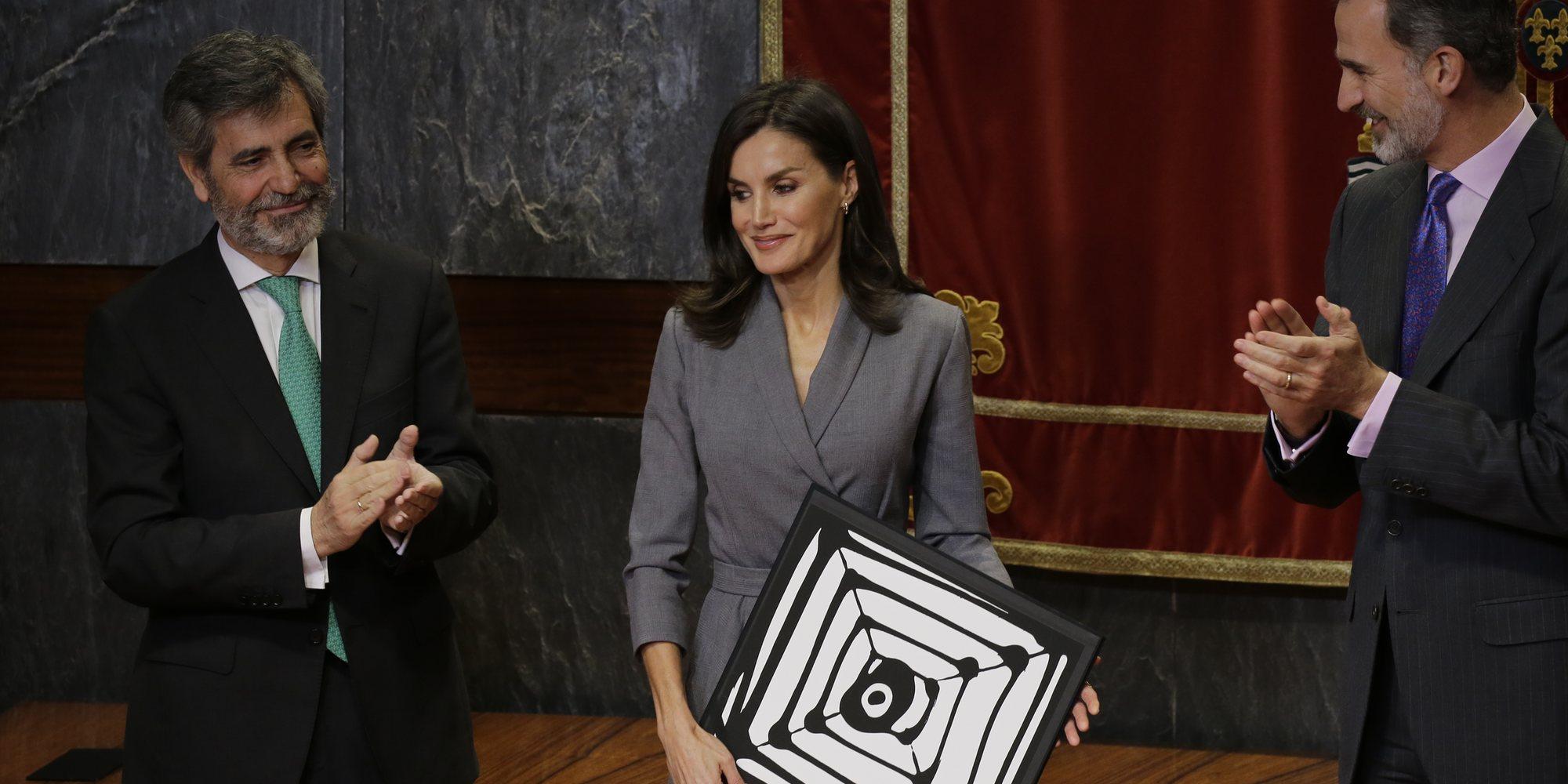 La Reina Letizia, premiada por su labor y compromiso contra la violencia de género