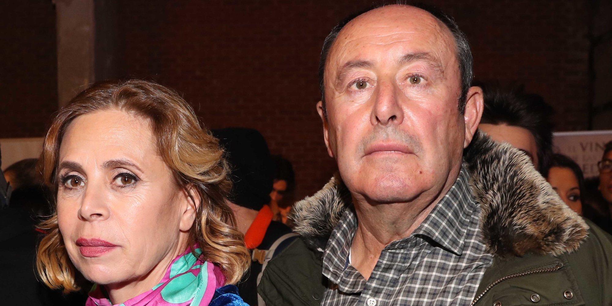 Ágatha Ruiz de la Prada rompe con Luis Miguel Rodríguez 'El chatarrero' tras ser visto con otra mujer