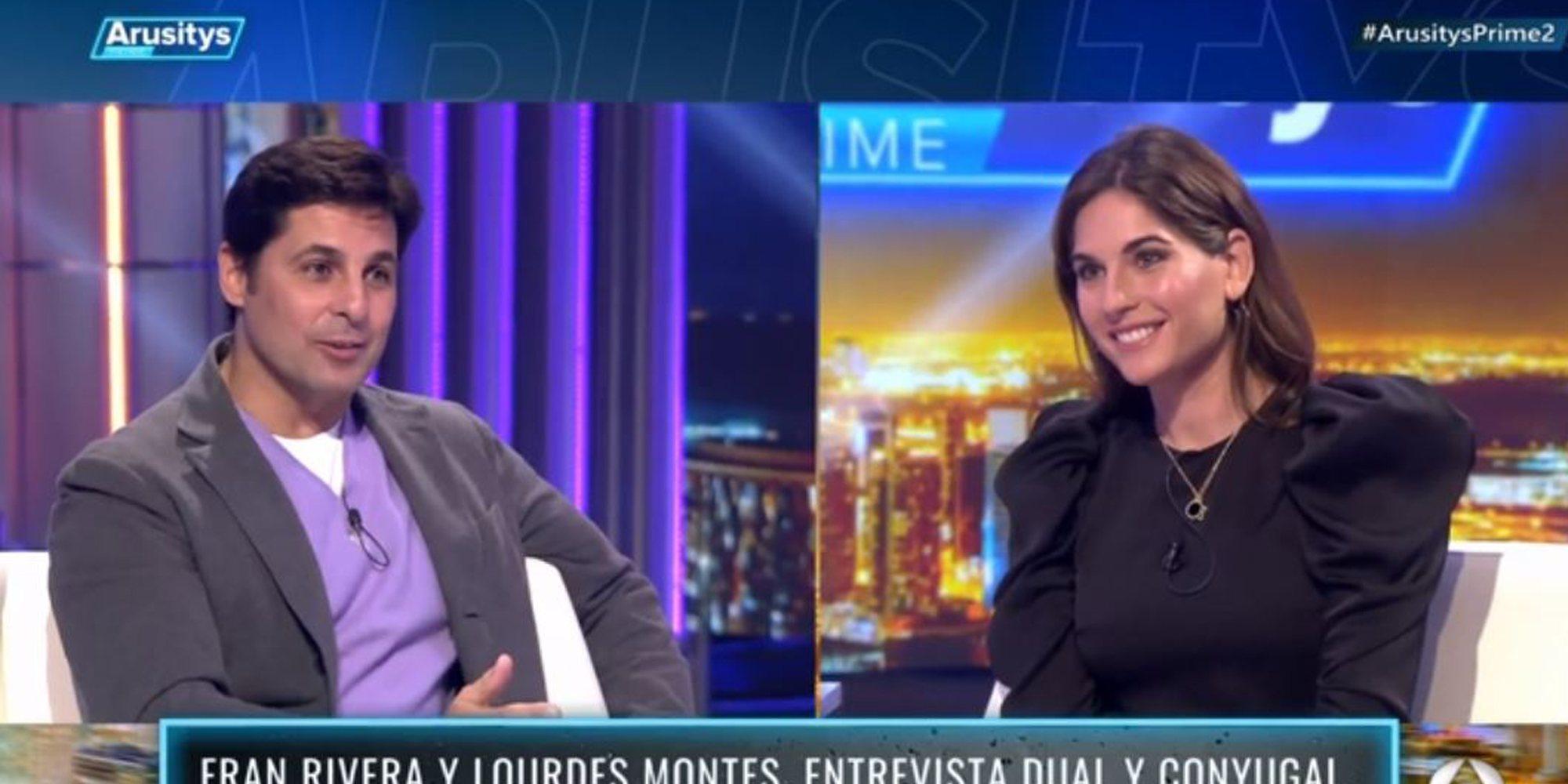 La revelación de Lourdes Montes sobre su matrimonio con Fran Rivera: no les gustaba a su padres