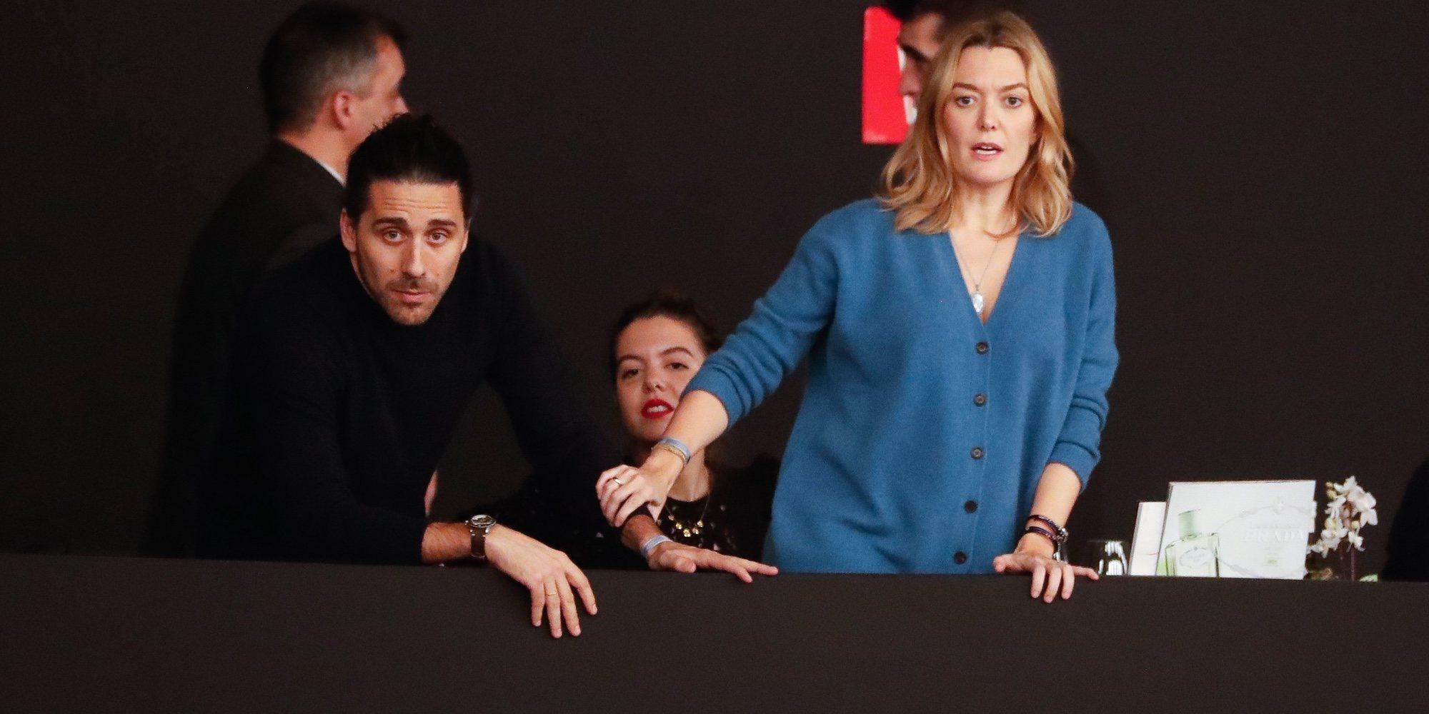 Marta Ortega presume de embarazo en la Madrid Horse Week junto a su pareja, Carlos Torretta