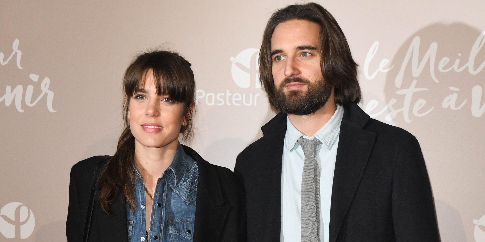 Carlota Casiraghi y Dimitri Rassam, todo amor para desmentir rumores en una noche de cine