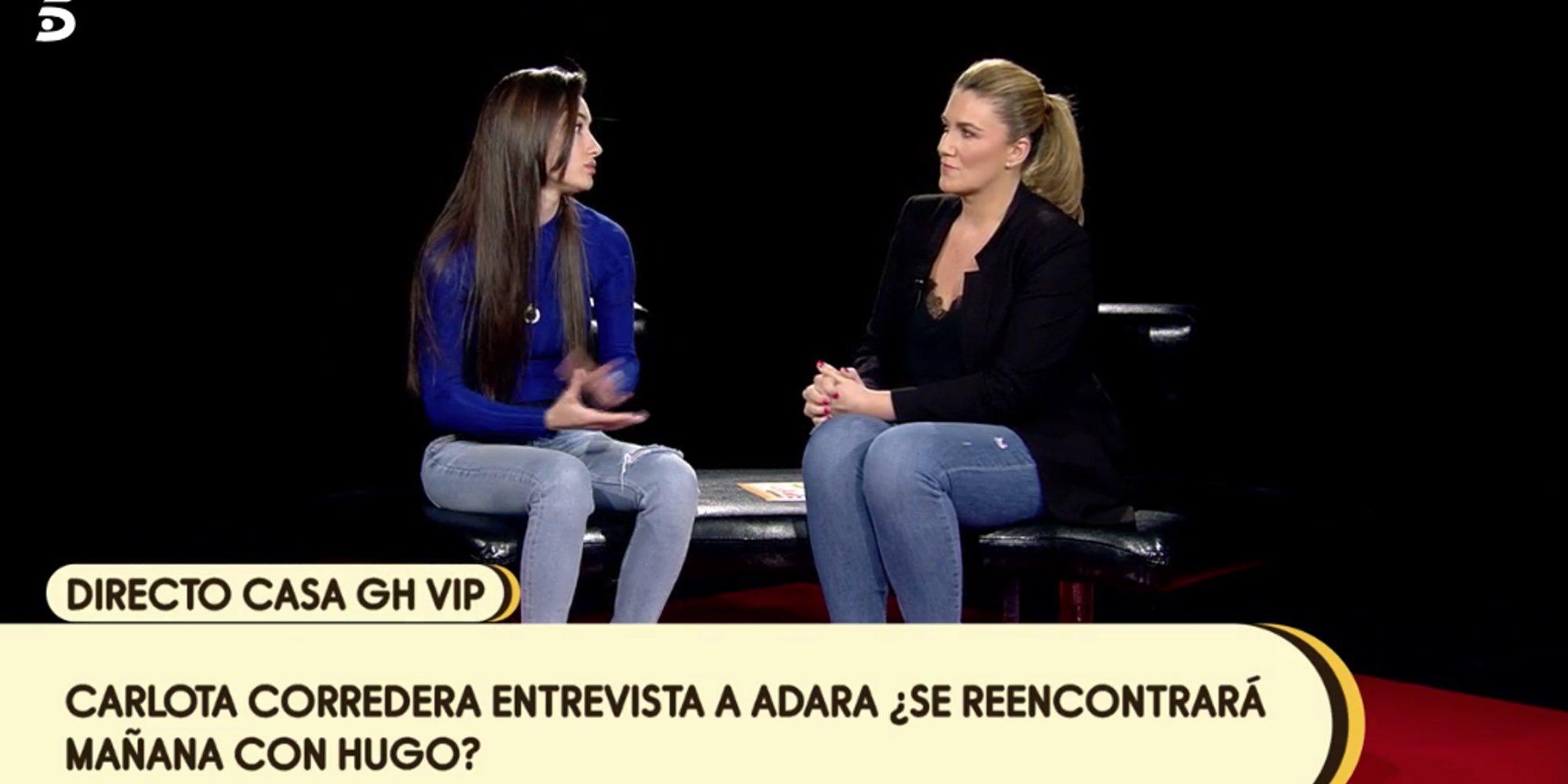 """Las prioridades de Adara al salir de 'GH VIP 7': """"Hablar con mi familia y con Hugo antes que con Gianmarco"""""""