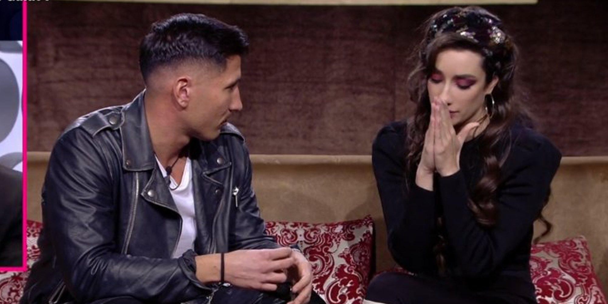 """Adara, muy fría con Gianmarco en su visita a 'GH VIP 7': """"No sé lo que siento"""""""