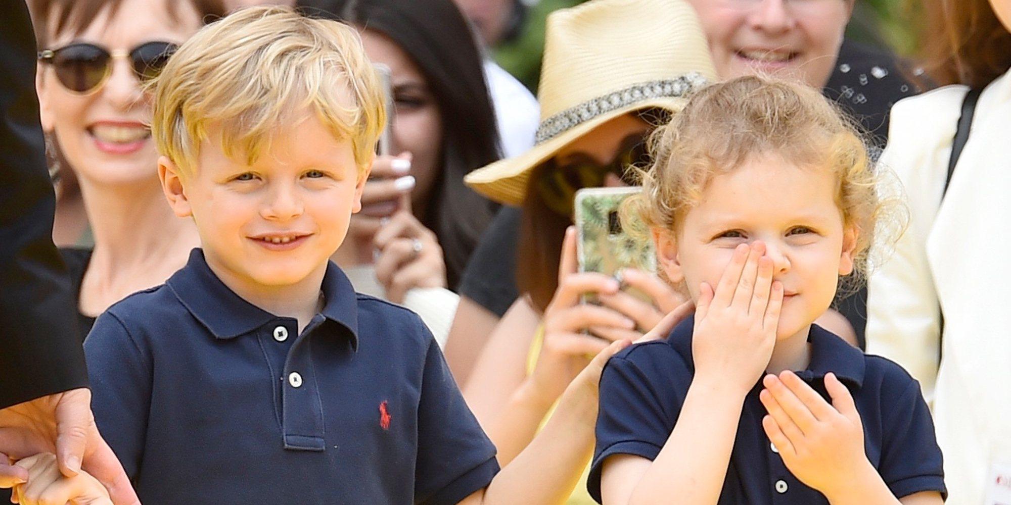 El tierno vídeo con mensaje con el que Jacques y Gabriella de Mónaco celebran su 5 cumpleaños