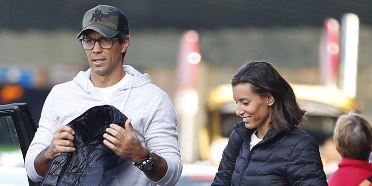 Ana Boyer y Fernando Verdasco vuelven a Doha después de disfrutar de unos días en familia en Madrid