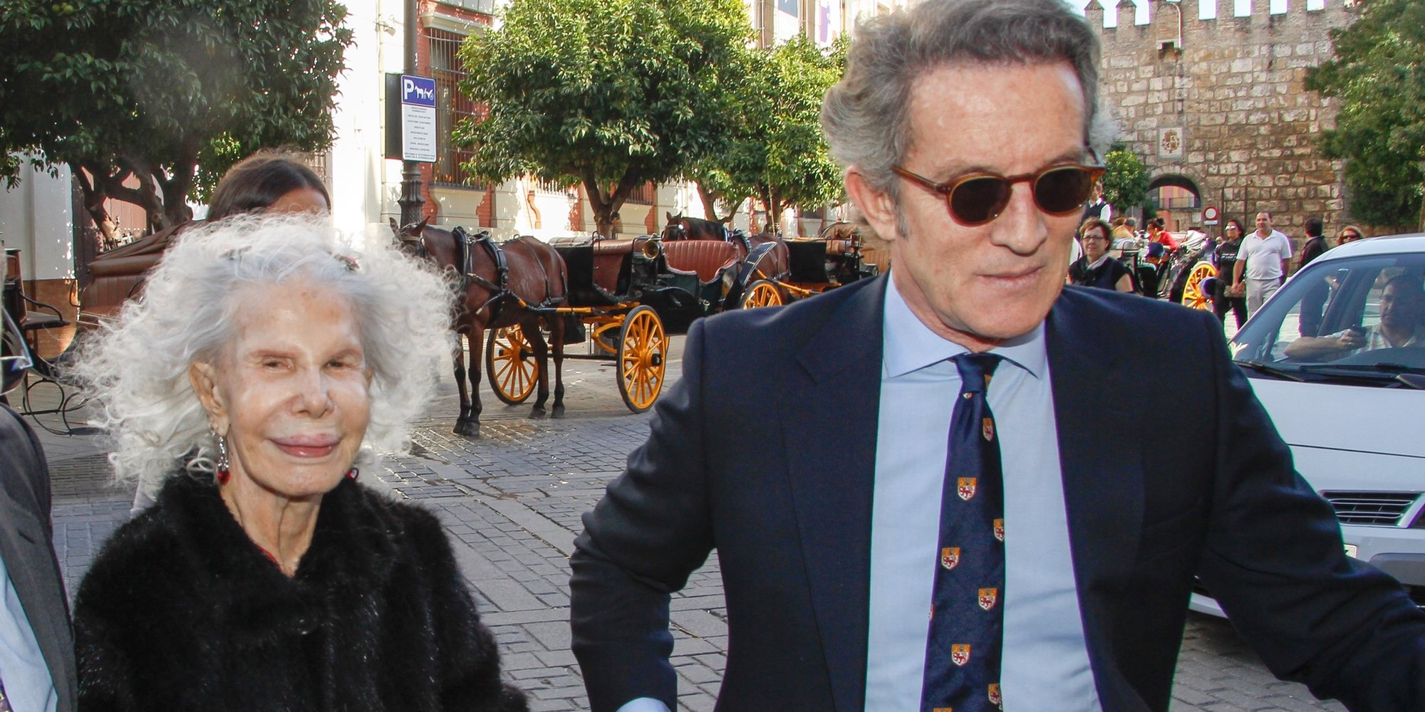 Alfonso Díez retira del mercado la casa que le regaló la Duquesa de Alba en Sanlúcar de Barrameda