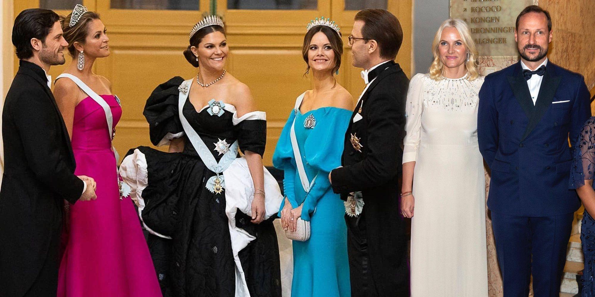 Las diferencias entre la Familia Real Sueca y la Familia Real Noruega que pone en evidencia la entrega de los Nobel