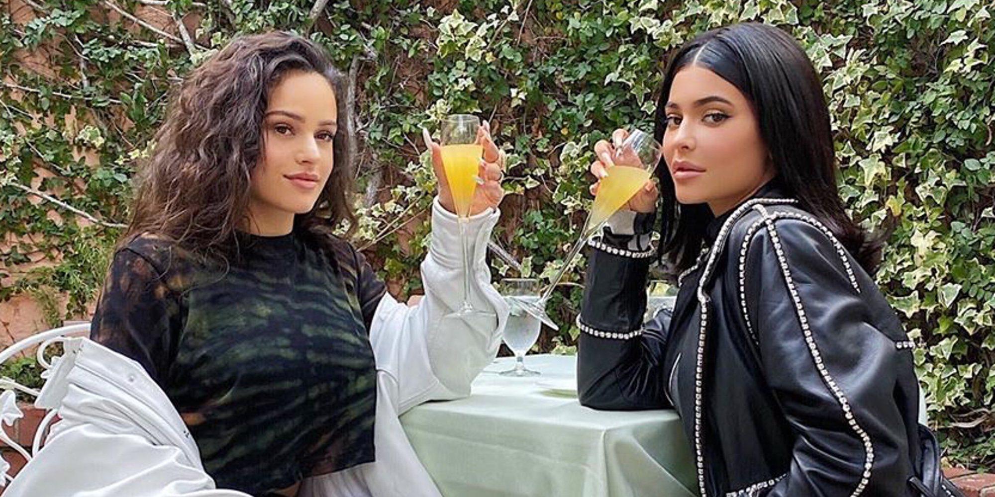 """Kylie Jenner disfruta de la compañía de Rosalía en un brunch de divas: """"Madre mía Rosalía"""""""