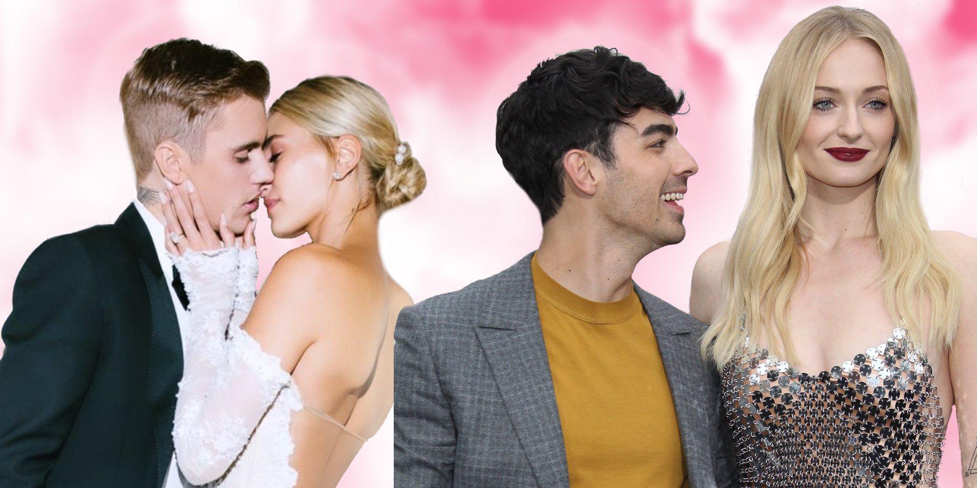Bodas 2019: Justin Bieber y Hailey Baldwin, Joe Jonas y Sophie Turner y otras 23 bodas del año