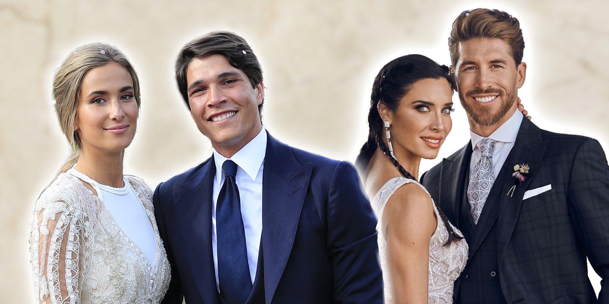 De María Pombo y Pablo Castellano a Pilar Rubio y Sergio Ramos: así fueron las bodas de este 2019