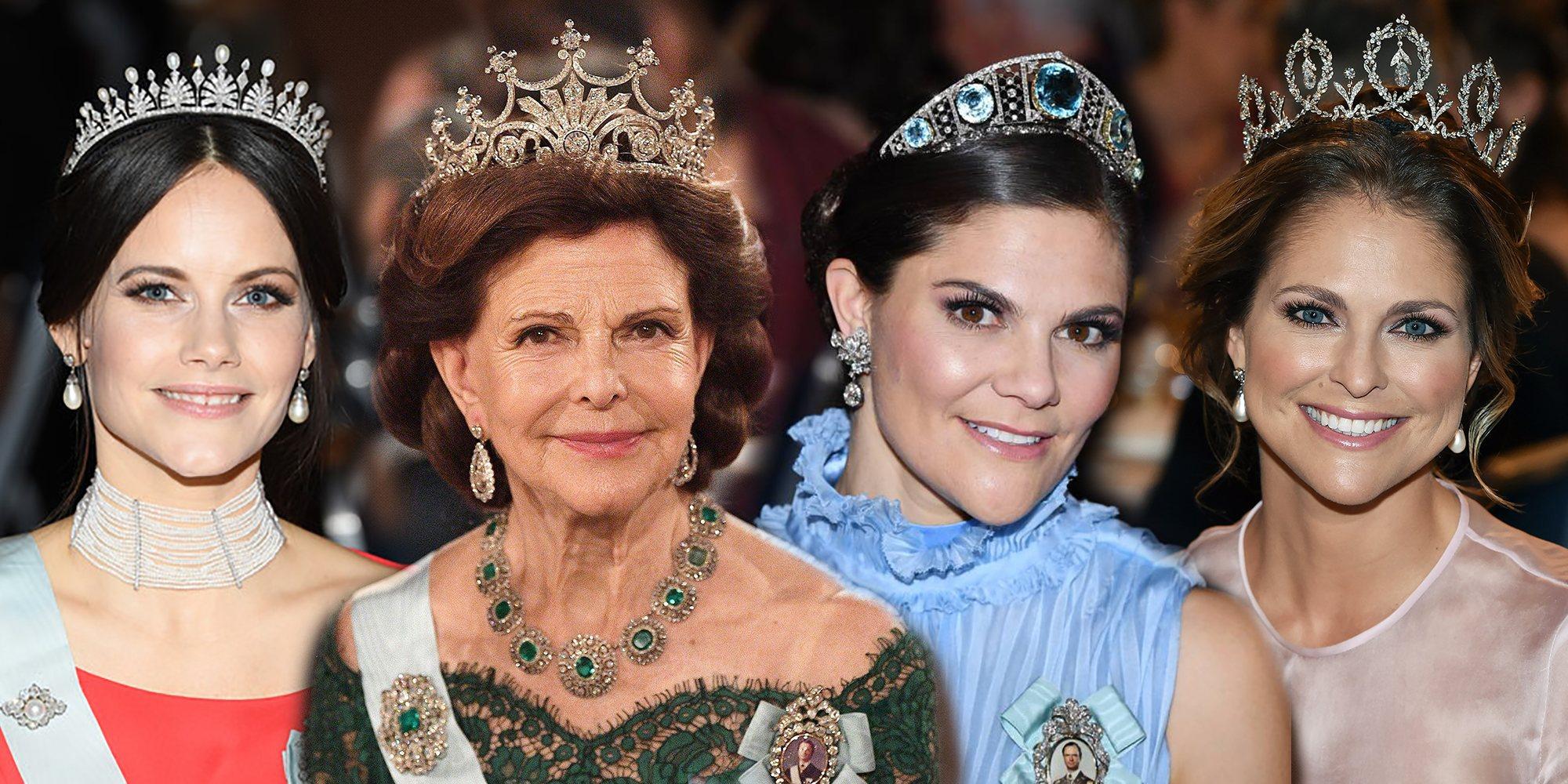 La impresionante colección de tiaras de la Familia Real Sueca: entre joyas históricas y regalos de amor