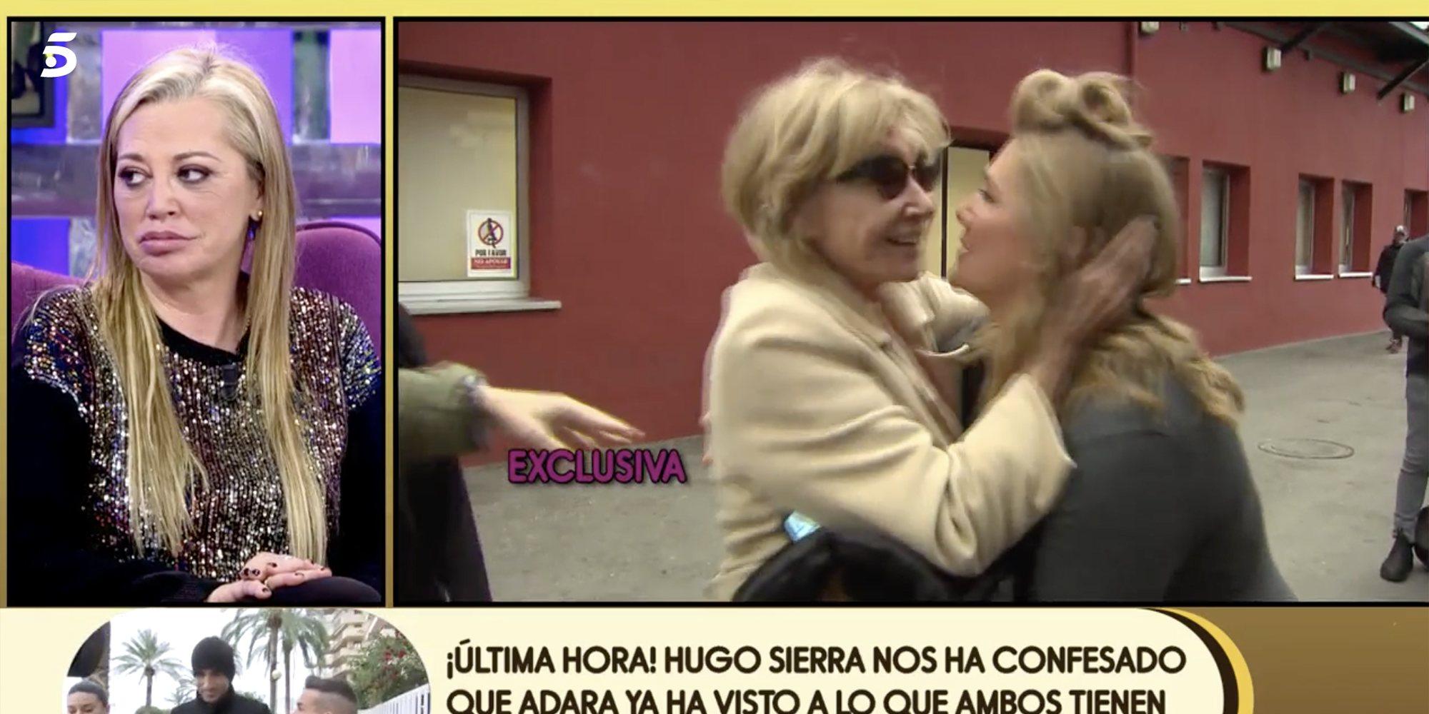 Así fue el reencuentro entre Mila Ximénez y Belén Esteban tras la final de 'GH VIP 7'
