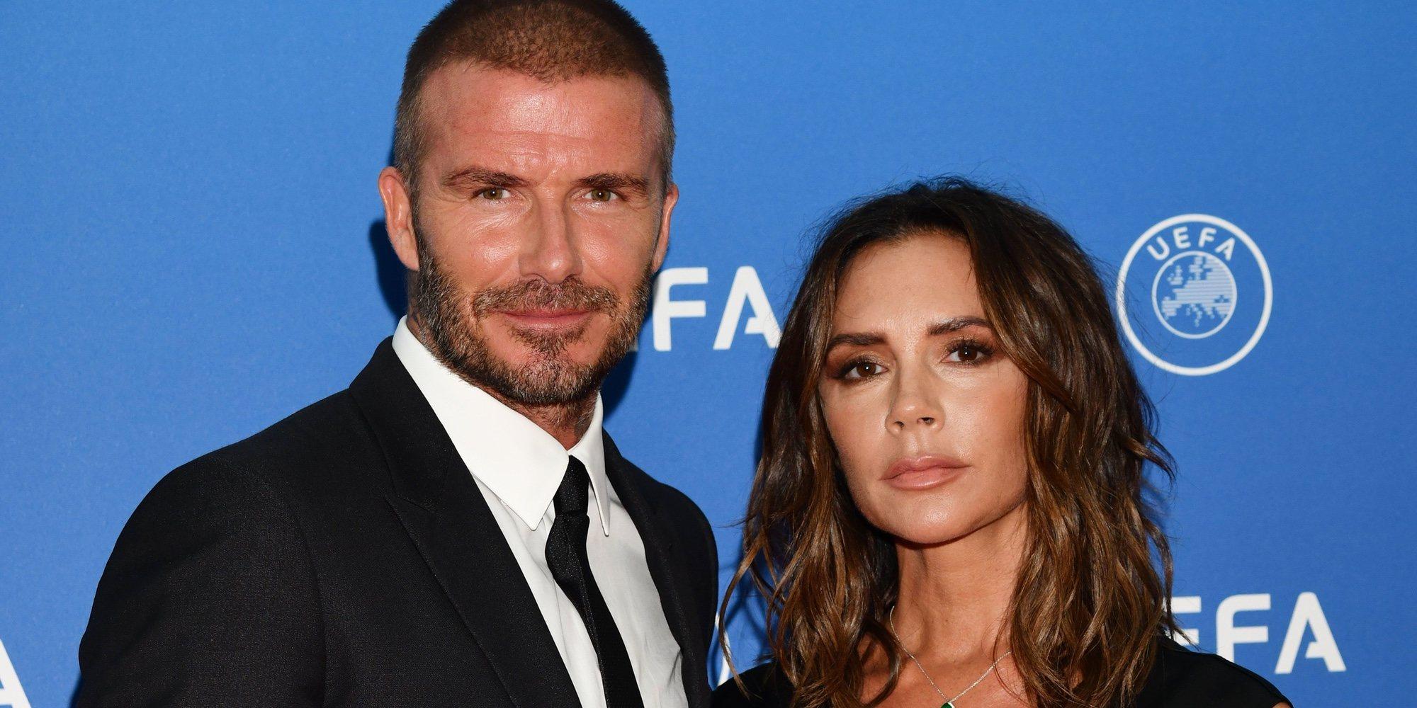 Los Beckham bautizan a Cruz y Harper Seven con Eva Longoria y Marc Anthony como padrinos