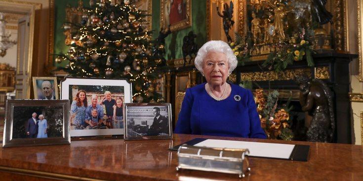 """El mensaje de Navidad más complicado de la Reina Isabel: """"2019 ha sido bastante movido"""""""