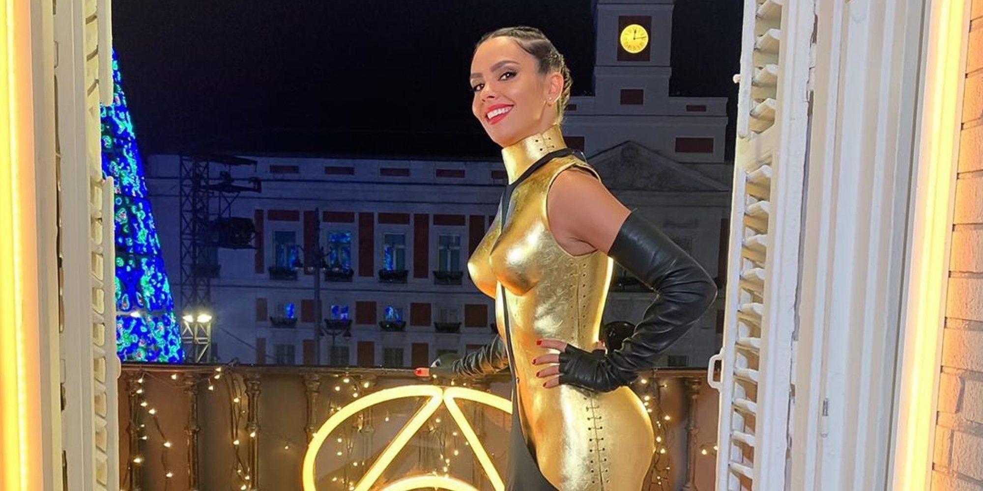Cristina Pedroche, una auténtica 'Diosa de oro' en las Campanadas 2019