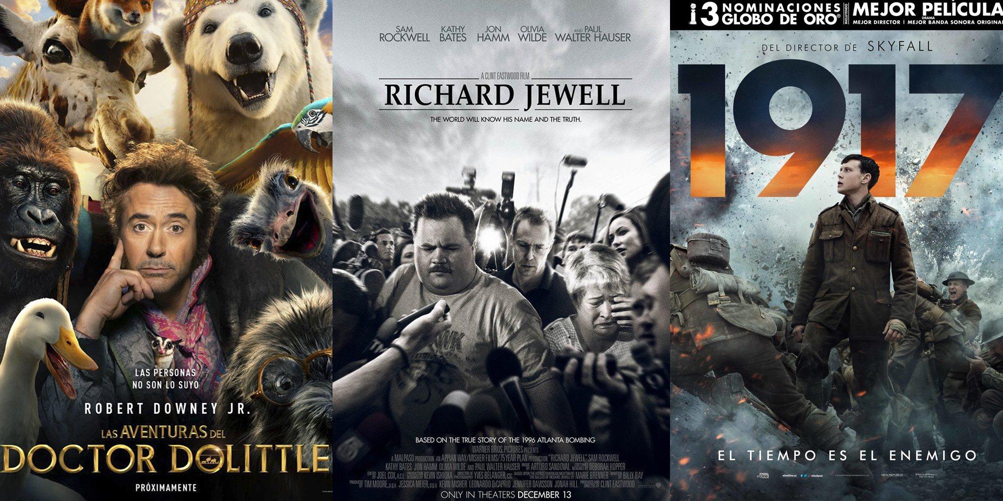 Las 5 películas más esperadas de enero de 2020