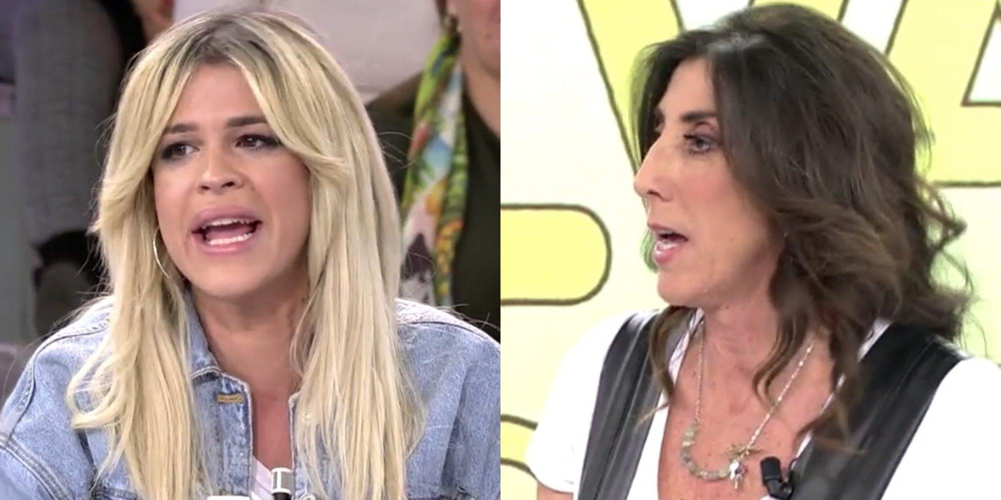 """El enfrentamiento feminista entre paz Padilla e Ylenia: """"No puedes opinar porque no eres madre"""""""