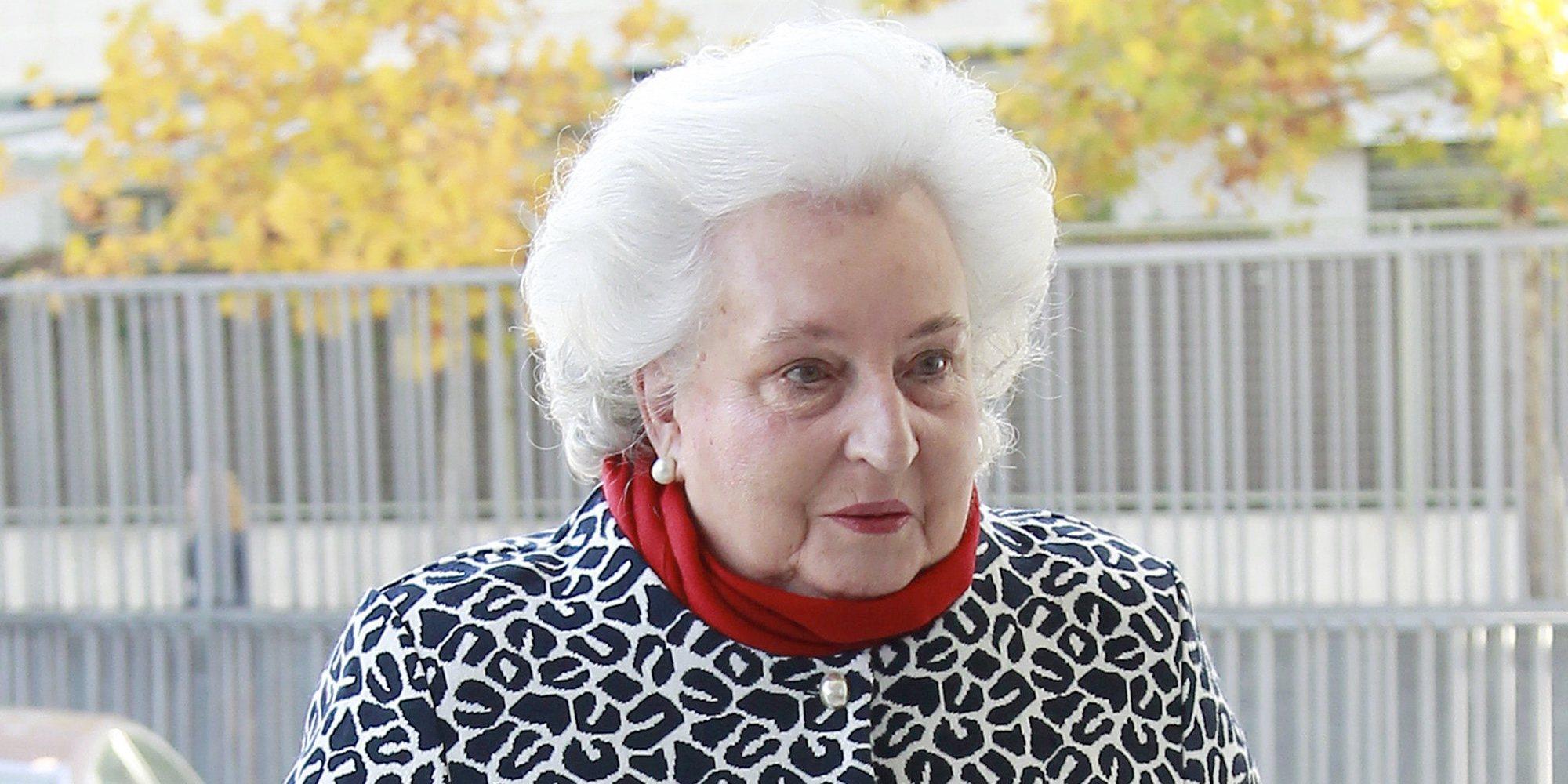 La Infanta Pilar rompe por amor la tradición de la Familia Real Española para su funeral
