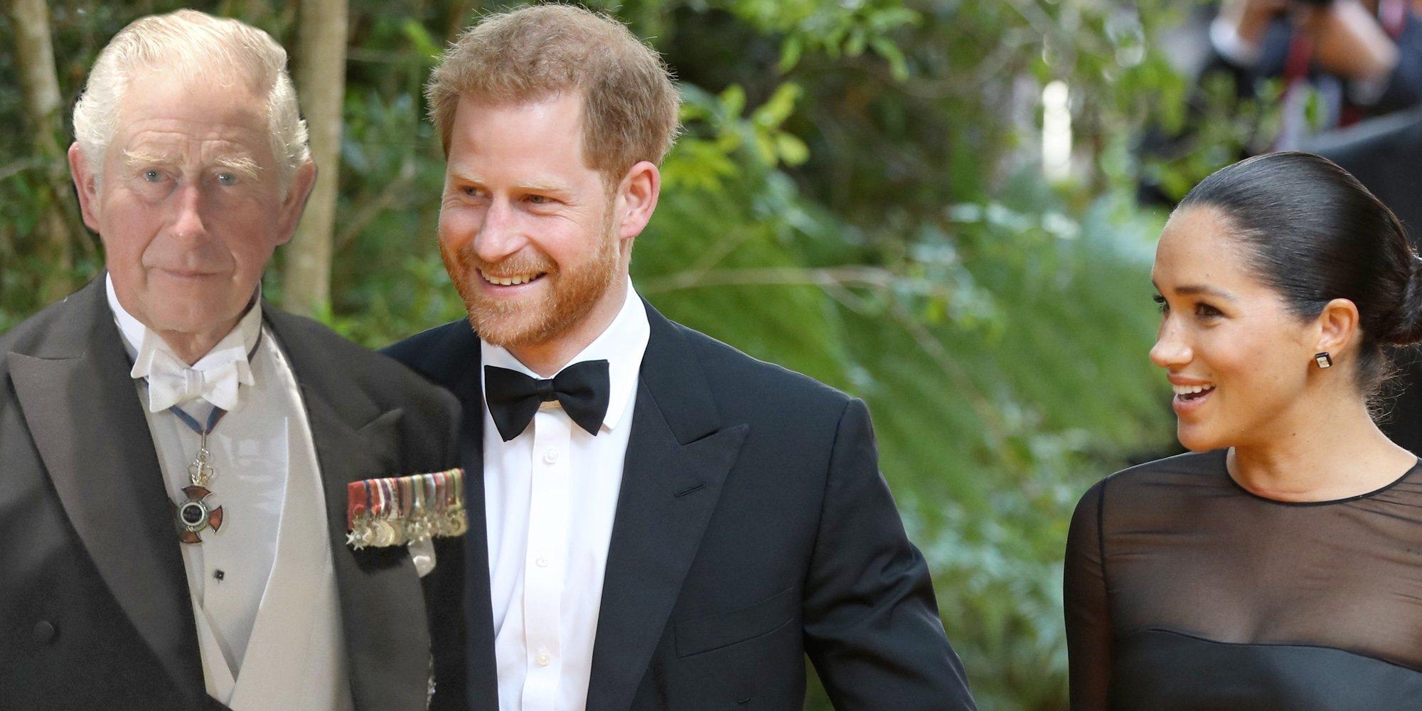El Príncipe Carlos amenaza la estabilidad financiera del Príncipe Harry y Meghan Markle
