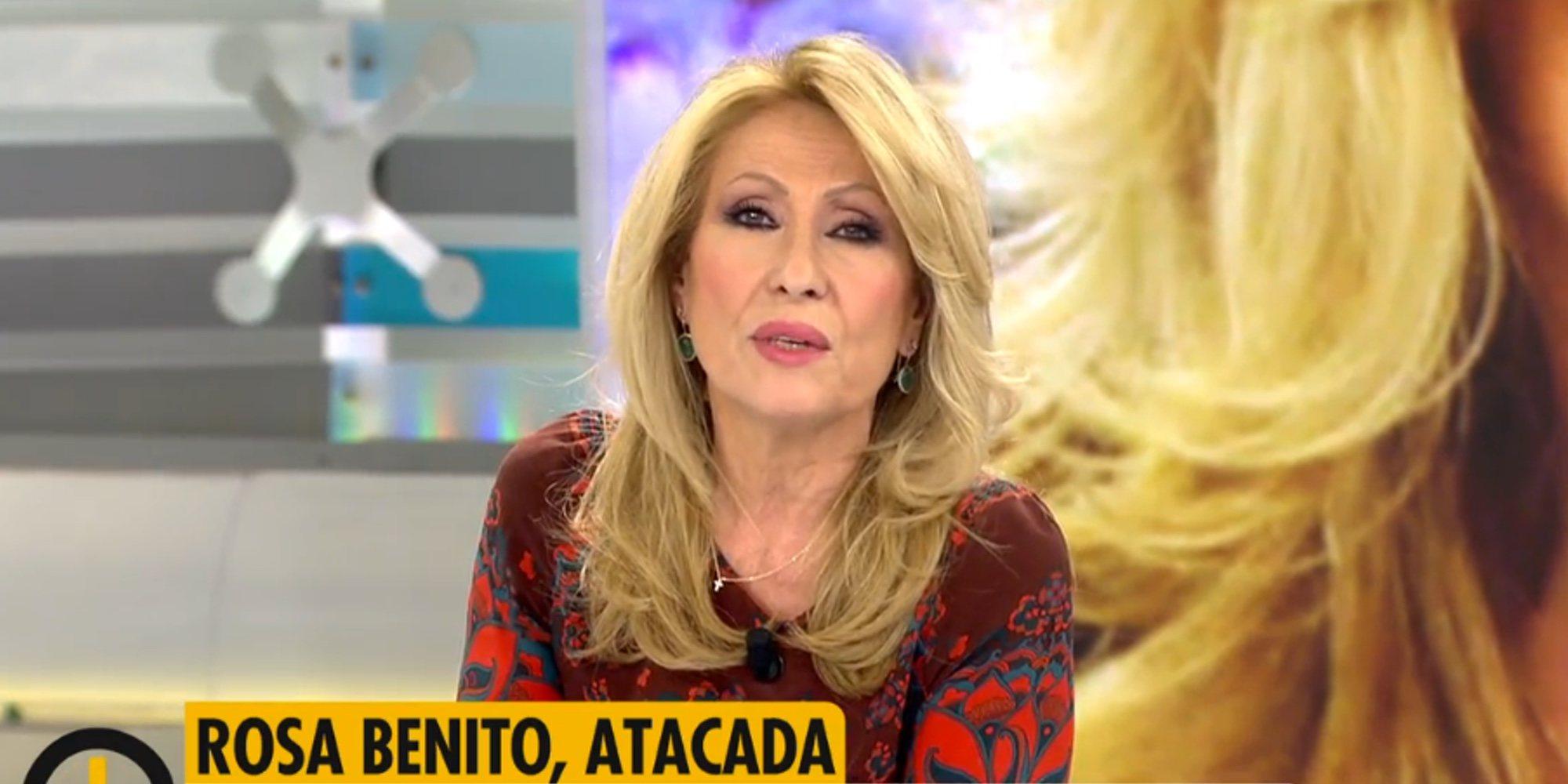 """El consejo de Rosa Benito a Sofía Suescun: """"La gente cuando es feliz no está mirando lo que hacen otros"""""""