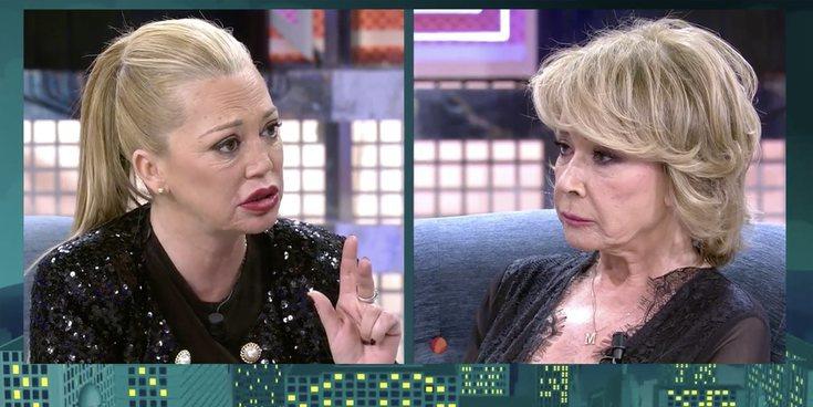 """El cara a cara de Belén Esteban y Mila Ximénez en 'Sábado Deluxe': """"Has esperado cuatro años para vapularme"""""""