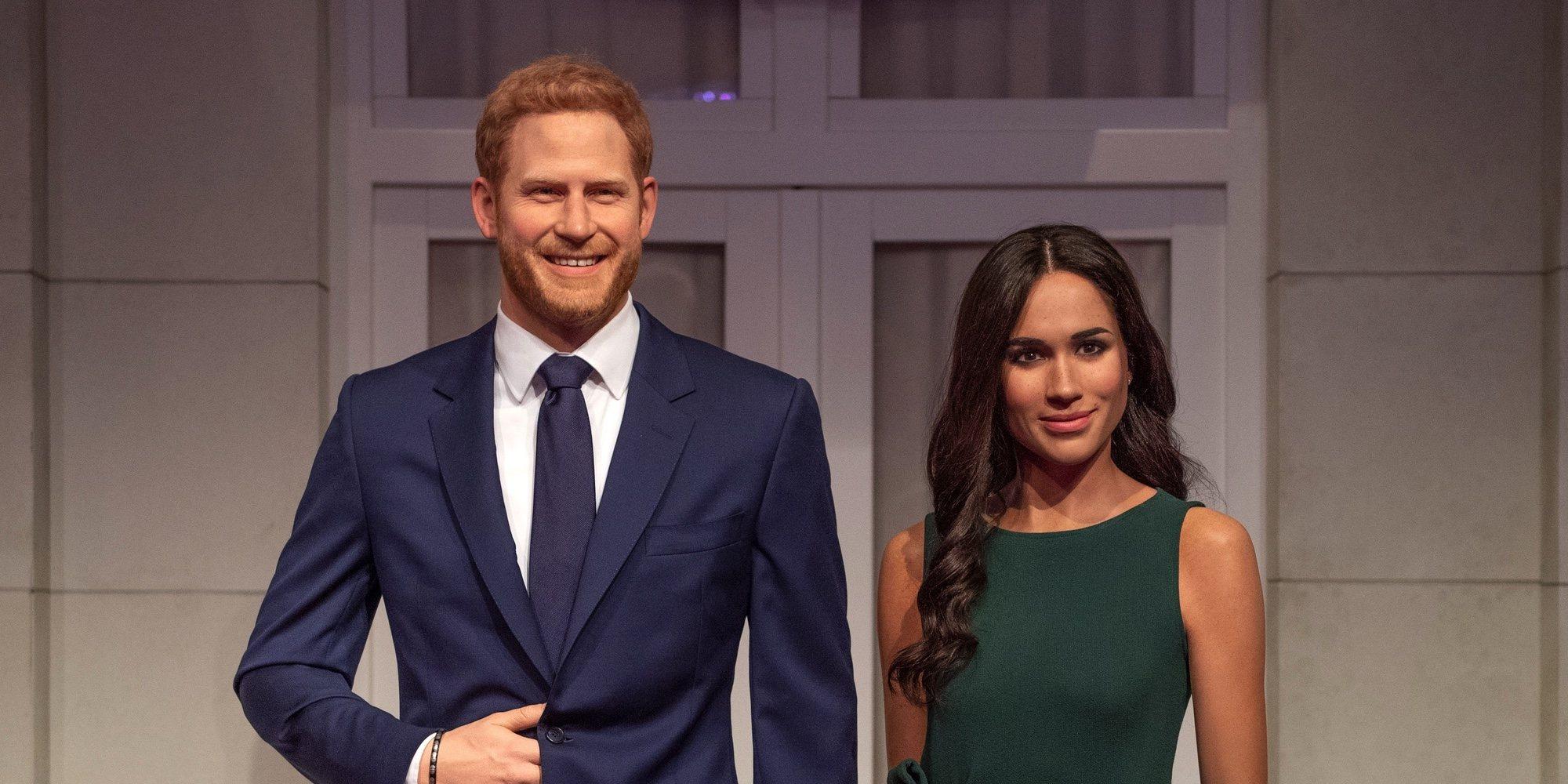 Las figuras de cera del Príncipe Harry y Meghan Markle ya tienen nuevo lugar en el Madame Tussauds de Londres