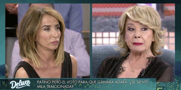 """María Patiño y Mila Ximénez aclaran sus diferencias en 'Sábado Deluxe': """"Hubiera pedido que ganara mi amiga"""""""