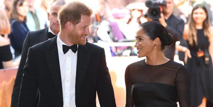 El Príncipe Harry aprovechó el estreno de 'El Rey León' para conseguirle un trabajo a Meghan Markle en Disney