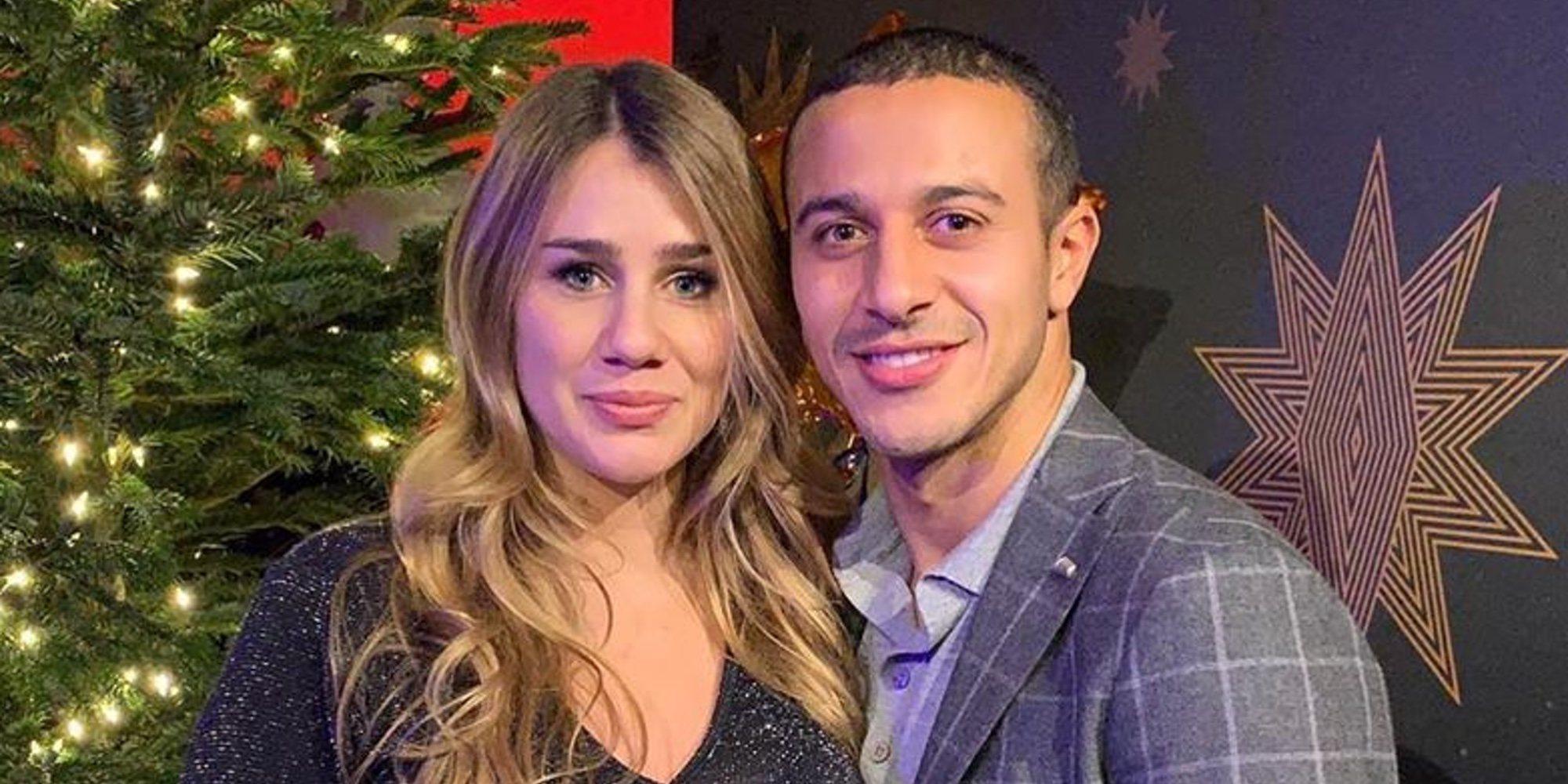 Thiago Alcántara y Julia Vigas han sido padres por segunda vez