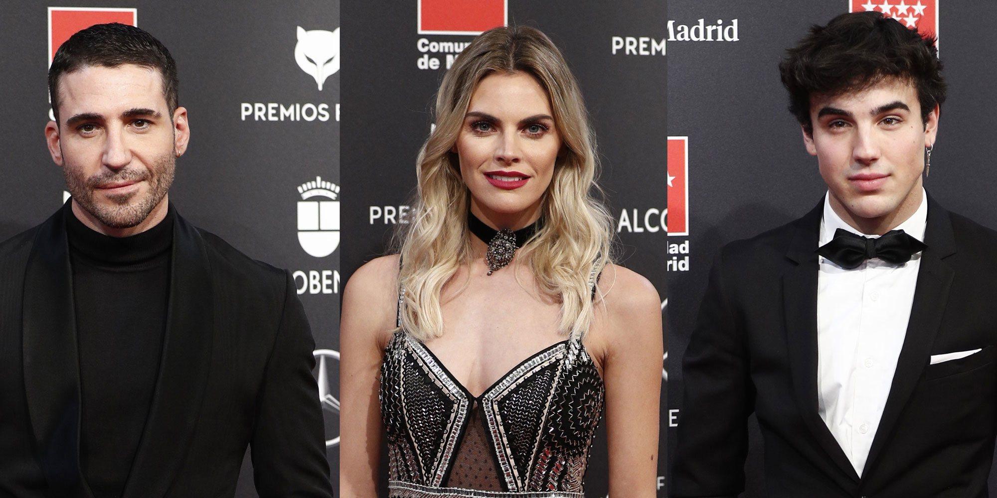 Miguel Ángel Silvestre, Amaia Salamanca y Óscar Casas brillan en la alfombra roja Premios Feroz 2020