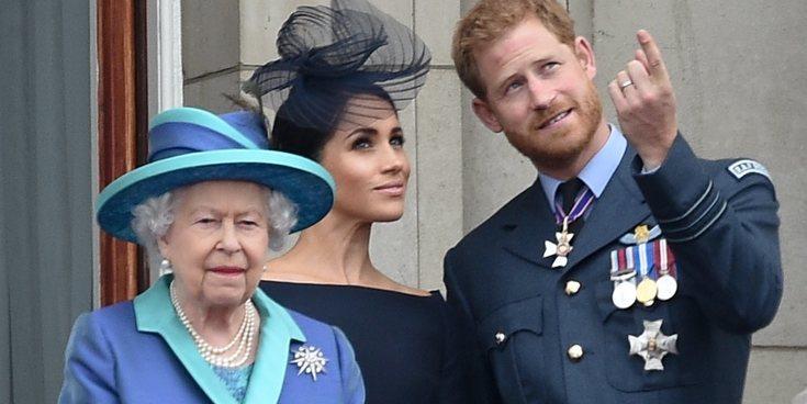 """La Reina Isabel apoya al Príncipe Harry y Meghan Markle en un comunicado: """"Respetamos su deseo"""""""