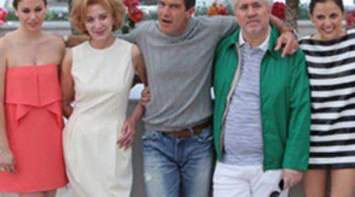 Antonio Banderas y Elena Anaya presentan la 'Piel que habito' en Cannes