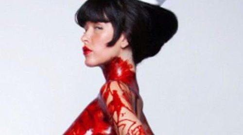 Paz de la Huerta, de 'Boardwalk empire', desnuda en el póster de 'Nurse 3D'