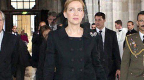 La Infanta Cristina representa a la Casa Real Española en el funeral de Otto de Habsburgo