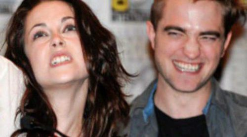Robert Pattinson y Kristen Stewart, divertidos y bromistas en la apertura de Comic-Con 2011