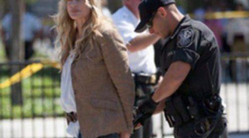Detienen a Daryl Hannah por protestar contra un oleoducto frente a la Casa Blanca