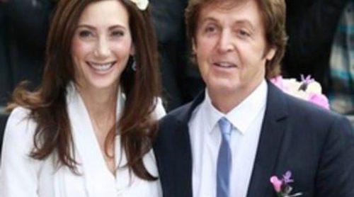 Paul McCartney y Nancy Shevell se dan el 'sí quiero' en una discreta boda en Londres