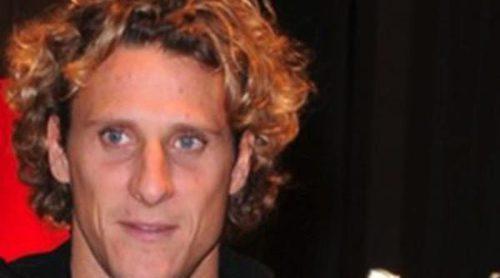 Diego Forlán, muy solidario en la Fundación Umberto Veronesi contra el cáncer de mama