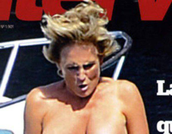 Interviú Pilla A Mercedes Milá En Topless Durante Sus Vacaciones En
