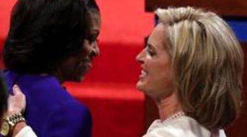 Michelle Obama y Ann Romney, las otras 'rivales' en el debate entre Barack Obama y Mitt Romney