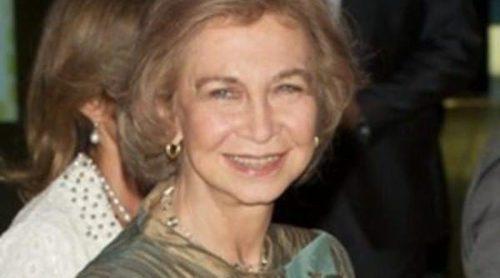 La Reina Sofía, los Duques de Alba y la Baronesa Thyssen asisten al concierto de Ainhoa Arteta