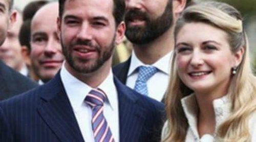 La boda del Príncipe Guillermo de Luxemburgo y Stéphanie de Lannoy reúne a la realeza